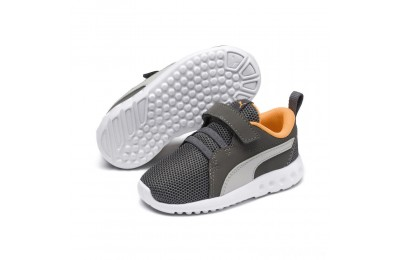 Puma Carson 2 Casual AC Sneakers PSChar Gray-Glac Gray-Orange Sales