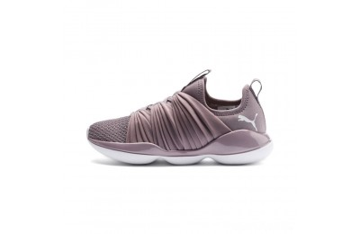 Puma Flourish Women's Training Shoes Elderberry- White Sales