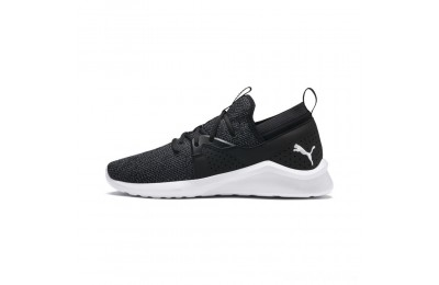 Puma Emergence Black- White Sales