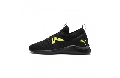 Puma Emergence Future Men's Training Shoes Black-Charcoal-Yellow Sales
