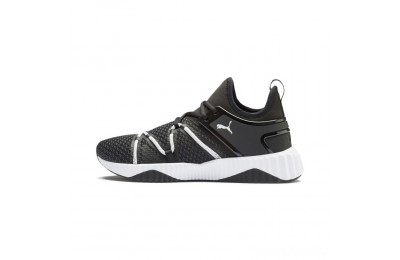 Puma Defy Deco Men's Training Shoes Black- White Sales