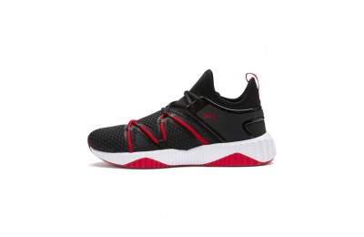Puma Defy Deco Men's Training Shoes Black-High Risk Red Sales