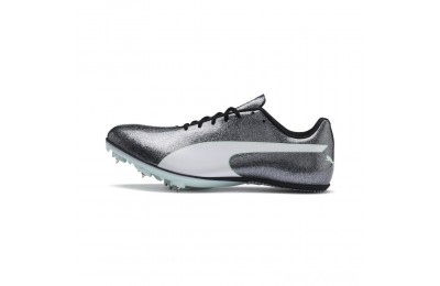 Puma evoSPEED Sprint 9 WnSteel Gray-Fair Aqua-White Sales