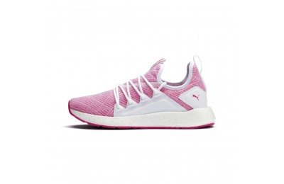 Puma NRGY Neko Stellar Women's Running Shoes White-Fuchsia Purple Sales
