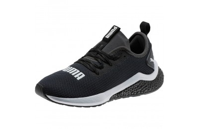 Puma HYBRID NX Running Shoes JR Black- White Sales