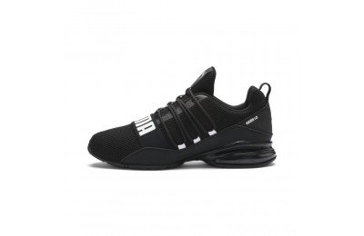 Puma CELL Regulate Woven Men's Running Shoes Black-Asphalt-White Sales