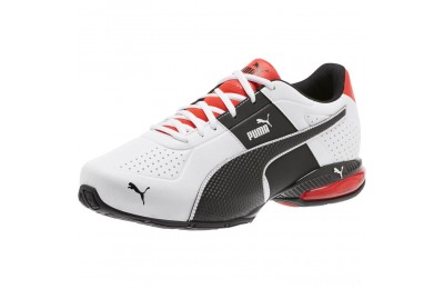 Puma Cell Surin 2 Wide Men's Training Shoes Pma Wht-Pma Blk-Flme Scarlet Sales