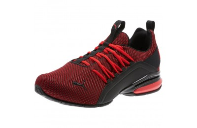 Puma Axelion Mesh WideHigh Risk Red- Black Sales