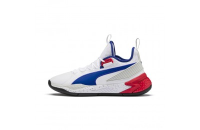 Puma Uproar Palace Guard Basketball Shoes White-Surf The Web Sales