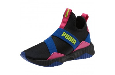 Puma Defy Mid 90s Women's Sneakers Black-Surf The Web Sales