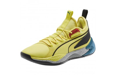 Puma Uproar Spectra Basketball Shoes Limelight- Black- White Sales