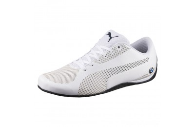 Puma BMW Motorsport Drift Cat 5 Ultra Training Shoes Wht-Team Blu-Hgh Rsk Rd Sales