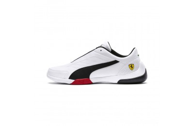 Puma Scuderia Ferrari Kart Cat III Sneakers White- Black Sales