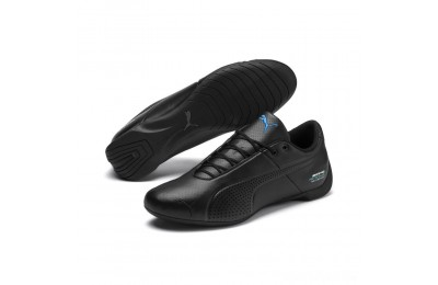 Puma Mercedes AMG Petronas Future Cat Ultra Sneakers Black-Black-Indigo Sales