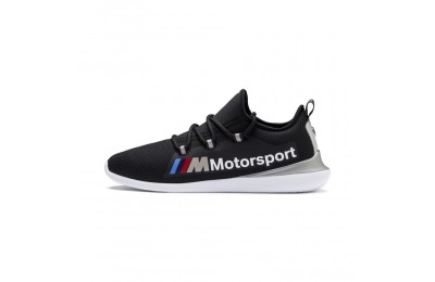 Puma BMW MMS Evo Cat Racer Black- Silver Sales