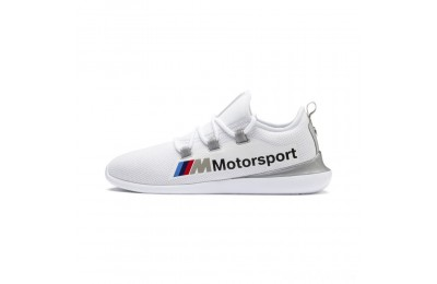 Puma BMW MMS Evo Cat Racer White- Silver Sales