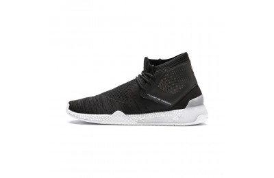 Puma Porsche Design HYBRID evoKNIT Men's Running Shoes Jet Black- White Sales