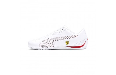 Puma Scuderia Ferrari Drift Cat 5 Ultra II Men's Sneakers White-Rosso Corsa Sales