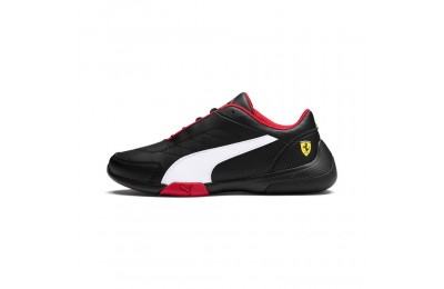 Puma Scuderia Ferrari Kart Cat III JR Black- White Sales