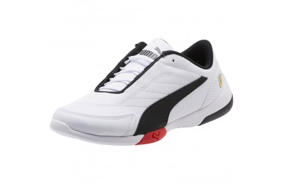 Puma Scuderia Ferrari Kart Cat III JR White- Black Sales