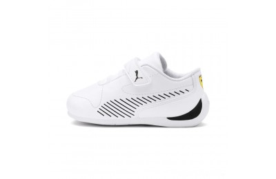 Puma Scuderia Ferrari Drift Cat 7S Ultra V PS White- Black Sales