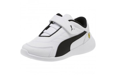 Puma Scuderia Ferrari Kart Cat III AC Sneakers PS White- Black Sales