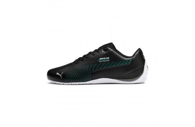 Puma Mercedes AMG Petronas Drift Cat 5 Ultra II Shoes Black-Spectra Green Sales
