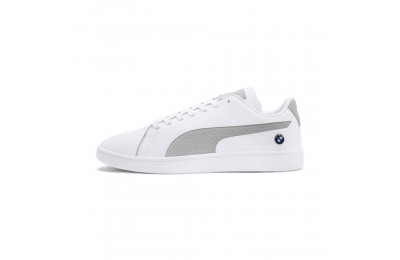 Puma BMW MMS Smash V2 White-Gray Violet Sales