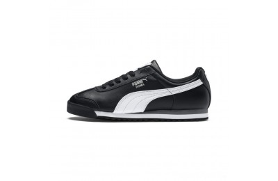 Puma Roma Basic Sneakers black-white-puma silver Sales