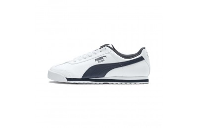 Puma Roma Basic Sneakers white-new navy Sales