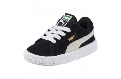 Puma Puma Suede Infant Sneakers black-white Sales