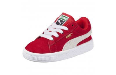 Puma Puma Suede Infant Sneakers high risk red-white Sales