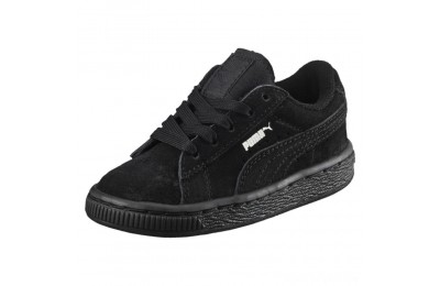 Puma Puma Suede Infant Sneakers black-puma silver Sales