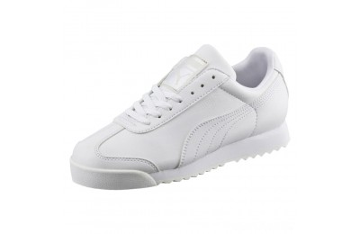 Puma Roma Basic Sneakers JRwhite-light gray Sales