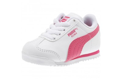 Puma Roma Basic Sneakers INFwhite-fuchsia purple Sales