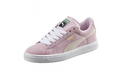 Puma Suede Jrpink lady-white-team gold Sales