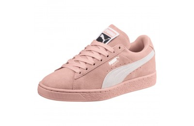Puma Suede Classic Women's Sneakers Peach Beige- White Sales