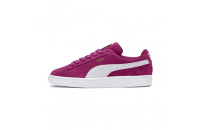 Puma Suede Classic Women's Sneakers Magenta Haze- White Sales