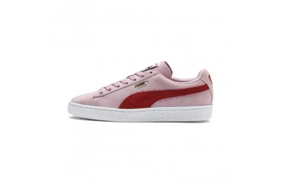 Puma Suede Classic Women's Sneakers Pale Pink-Hibiscus Sales
