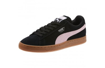 Puma Suede Classic Women's Sneakers Black-Pale Pink Sales