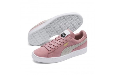 Puma Suede Classic Women's Sneakers Bridal Rose-Gray Violet Sales