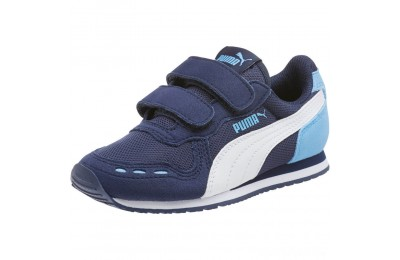 Puma Cabana Racer Mesh AC Sneakers PSP.coat-P.Wht-Little Boy Blue Sales