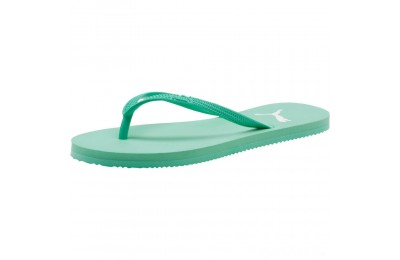 Puma First Flip Women's Sandals Biscay Green- White Sales