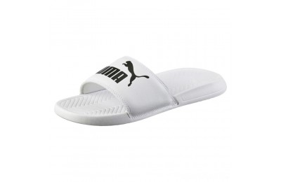 Puma Popcat Slide Sandals White- Black Sales