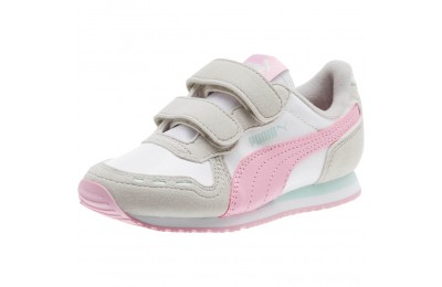 Puma Cabana Racer SL AC Sneakers PS White-Gray Violet Sales