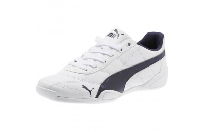 Puma Tune Cat 3 Shoes JR White-Peacoat Sales
