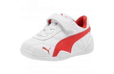 Puma Tune Cat 3 AC Shoes INF White-Flame Scarlet Sales