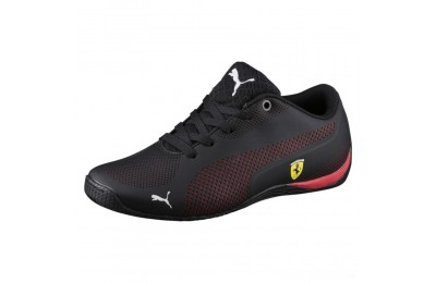 Puma Scuderia Ferrari Drift Cat 5 Ultra Sneakers JR Black-Rosso Corsa Sales