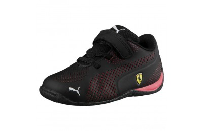 Puma Scuderia Ferrari Drift Cat 5 Ultra Shoes INF Black-Rosso Corsa Sales