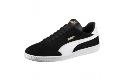 Puma Astro Cup Suede Sneakers Black- White Sales